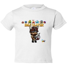 Load image into Gallery viewer, EZ-On BaBeez™ - WarePlay - Idle Slayer Leif with Villans - Toddler T-Shirt