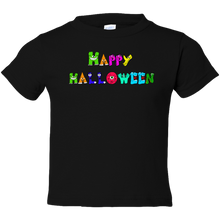 Load image into Gallery viewer, EZ-On BaBeez™ Halloween Collection - Happy Monsters - T-Shirt - Toddler Tee