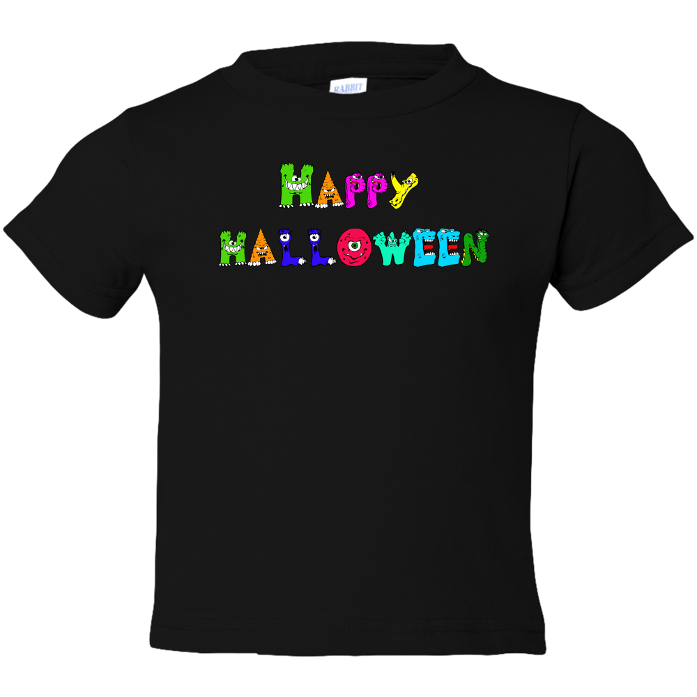 EZ-On BaBeez™ Halloween Collection - Happy Monsters - T-Shirt - Toddler Tee