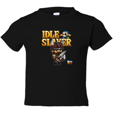 EZ-On BaBeez™ - WarePlay - Idle Slayer Leif - Toddler T-Shirt