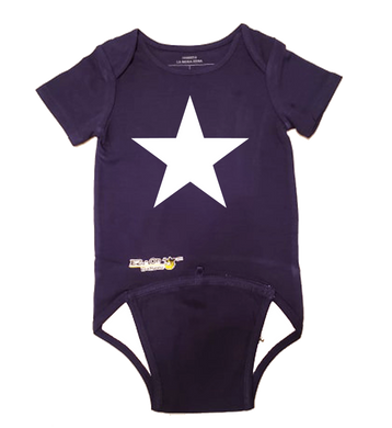 EZ-On BaBeez™ Baby Bodysuit - Americana Collection - Star - Short Sleeve