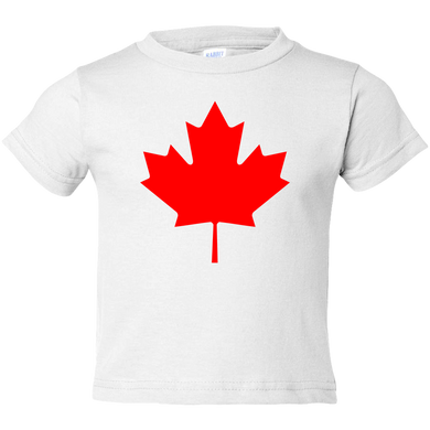 EZ-On BaBeez™ T-Shirt - Americana Collection - Maple Leaf (Canada Day) - Toddler Tee