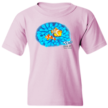 Load image into Gallery viewer, Youth Tee, Mom and Baby Collection - Marine Life Series, Clownfish