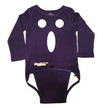 Load image into Gallery viewer, EZ-On BaBeez™ Halloween Collection - Ghost Face - Baby Bodysuit - Long Sleeve