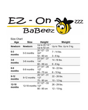 Load image into Gallery viewer, EZ-On BaBeez™ - Baby Romper, Long Sleeves with Footies and Baby Beanie