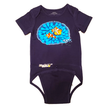 Load image into Gallery viewer, EZ-On BaBeez™ - Mom and Baby Collection - Marine Life Series, Clownfish - Baby Bodysuit, Short Sleeve
