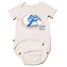 Load image into Gallery viewer, EZ-On BaBeez™ - Mom and Baby Collection - Marine Life Series, Baby Sea Turtle - Baby Bodysuit, Short Sleeve