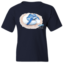 Load image into Gallery viewer, EZ-On BaBeez™ T-Shirt - Mom and Baby Collection - Marine Life Series, Baby Sea Turtle - Youth Tee