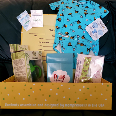 My Tot Box™ - Box #2: Baby Tot, with