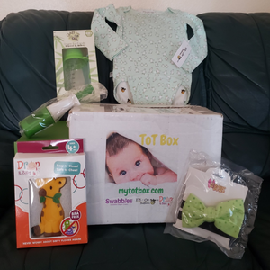 "My Tot Box™ - Box #3: ""Little Tot"", for babies ages 9-12 months"