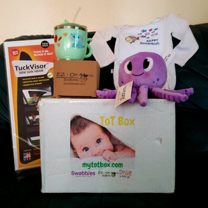 "My Tot Box™ - Box #4: ""Big Tot"", for toddlers, ages 12-24 months"
