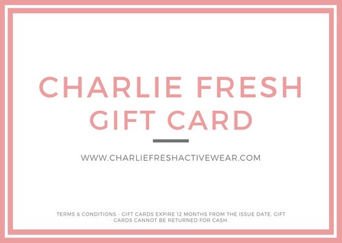 Charlie Fresh Gift Card