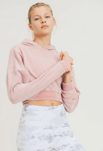 Keep It Cozy Crop Hoodie