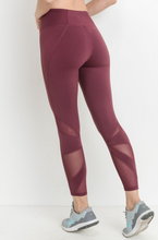 Load image into Gallery viewer, Shine Bright Mesh Legging
