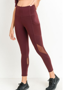 Dot Mesh Legging