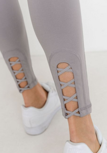 Criss Cross Cut Out Legging