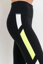 Load image into Gallery viewer, Neon Stripe Legging