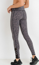 Load image into Gallery viewer, Leopard Mesh Legging