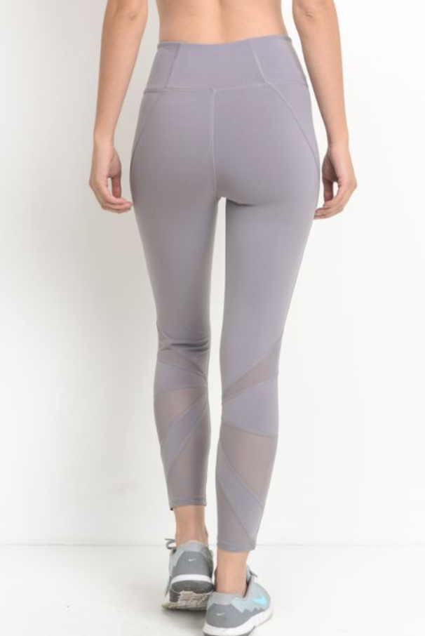 Shine Bright Mesh Legging