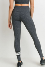 Load image into Gallery viewer, Silver Stripe Legging