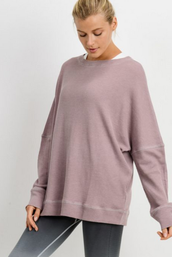 Waffle Lounge Pullover