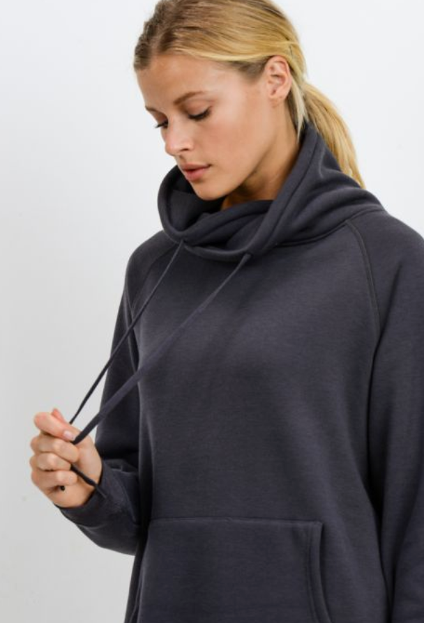 Cowl Neck Perfect Pullover