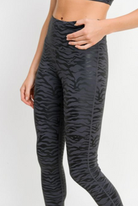 Tiger Foil Legging