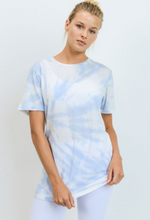 Load image into Gallery viewer, Star Burst Tie Dye Tee