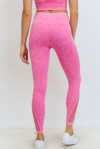 Diamond Threaded Seamless Legging