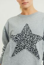 Load image into Gallery viewer, Cheetah Star Terry Pullover