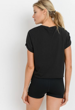 Load image into Gallery viewer, Basic Babe Crop Tee