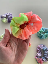 Load image into Gallery viewer, Tie Dye Hair Scrunchy