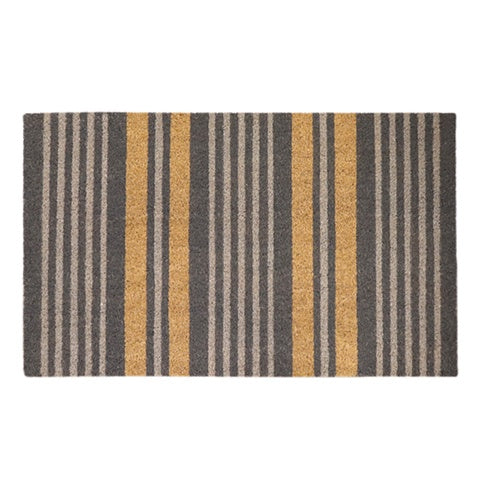 Grey Stripe Doormat