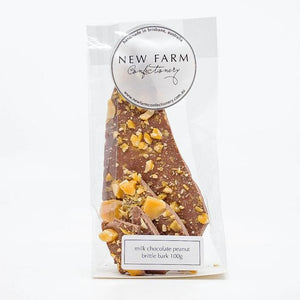 Milk Peanut Brittle Bark
