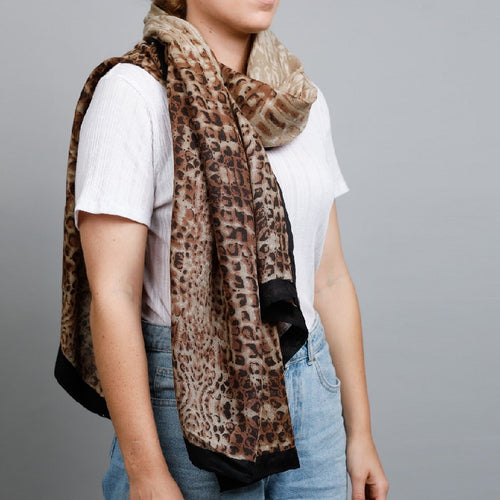 Kimba Scarf Brown