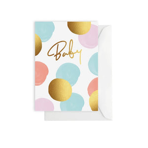 Baby Dots Colour Card