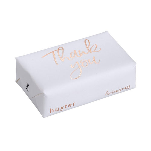 Thank You in Rose Gold White Soap