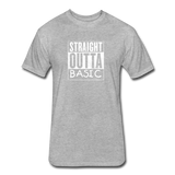 Straight Outta Basic - heather gray