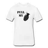 PULL MY PIN - white