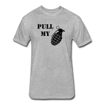 PULL MY PIN - heather gray