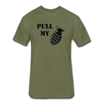 PULL MY PIN - heather military green