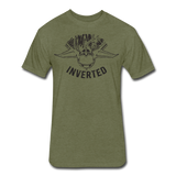 INVERTED - heather military green