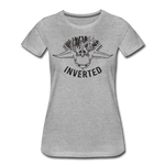 INVERTED WOMENS - heather gray