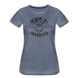 INVERTED WOMENS - heather blue