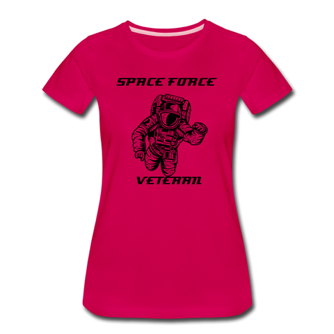 SPACE FORCE VETERAN WOMENS - dark pink