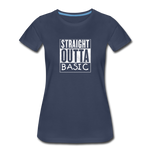 STRAIGHT OUTTA BASIC WOMENS - navy
