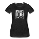 STRAIGHT OUTTA BASIC WOMENS - charcoal gray