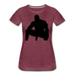 MR WOOD WOMENS - heather burgundy