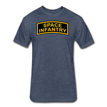 SPACE INFANTRY - heather navy