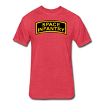 SPACE INFANTRY - heather red